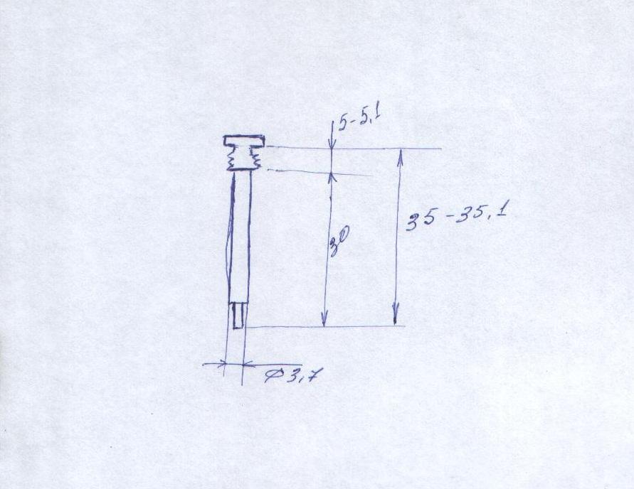 Схема жиклера ХХ