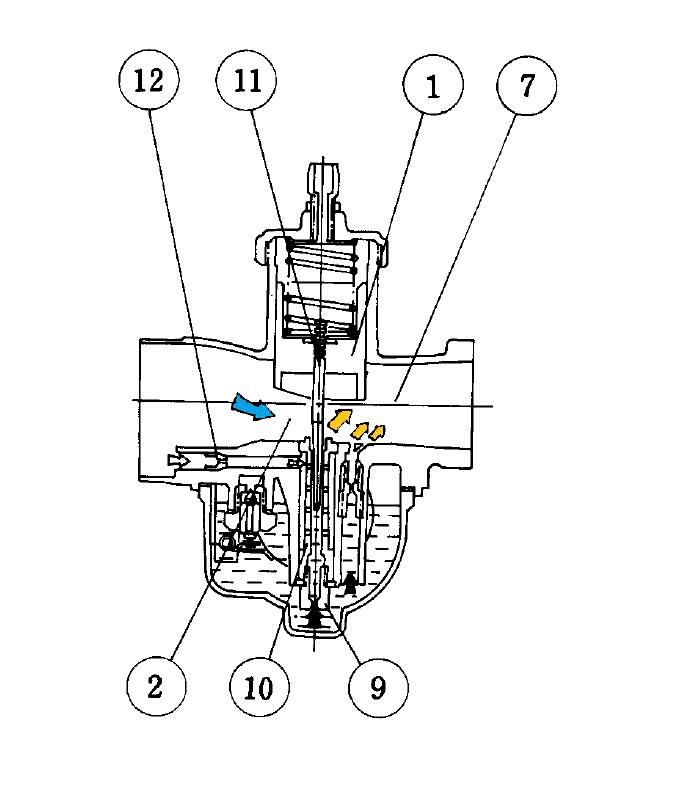 Основная система Карбюратора Mikuni