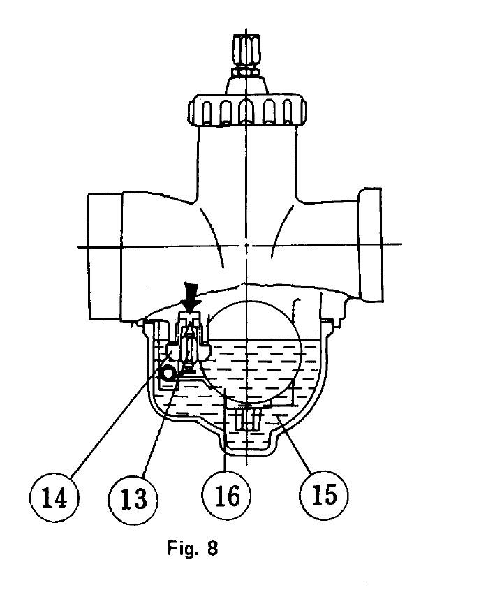 Поплавковая система карбюратора Микуни