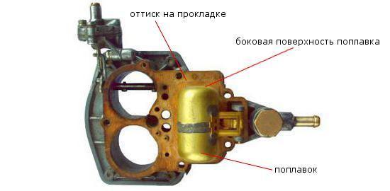 Крышка карбюратора ВАЗ 2107