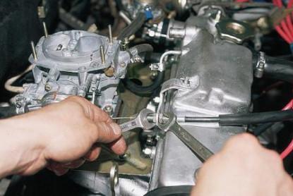 Регулировка троса газа ВАЗ 2110
