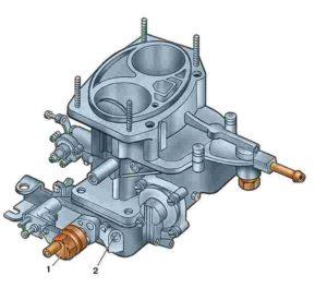 Внешний вид карбюратора ДААЗ-2140