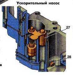Ускорительный насос к126